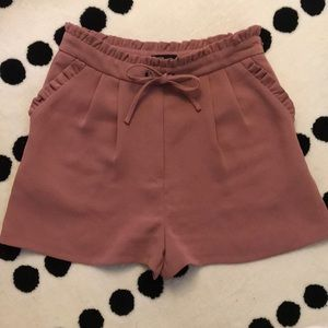 Topshop High-waisted Floaty Shorts.